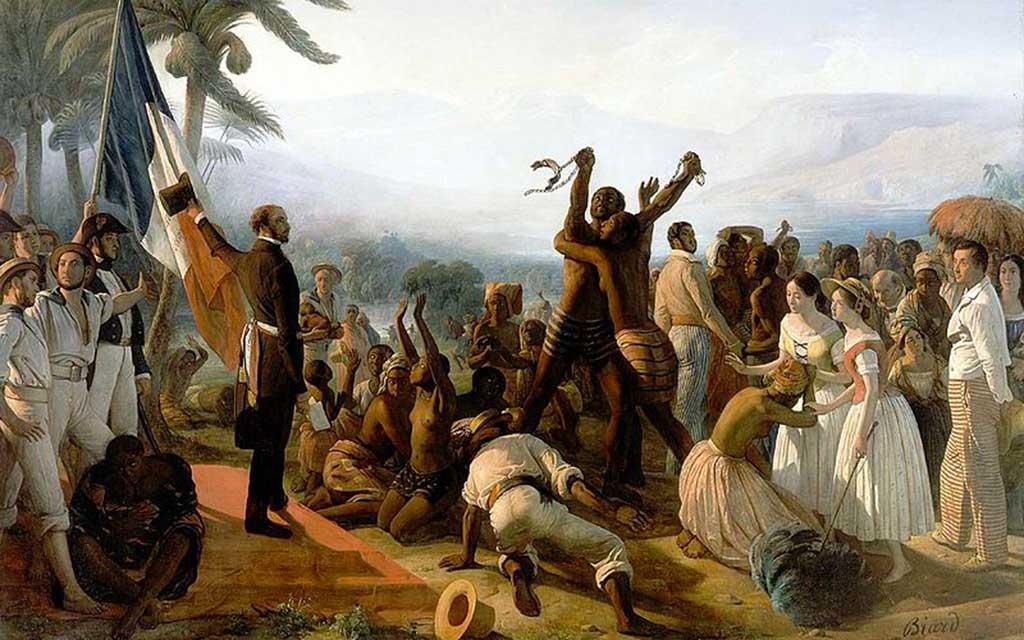 Sarda garriga abolie l'esclava à la Réunion
