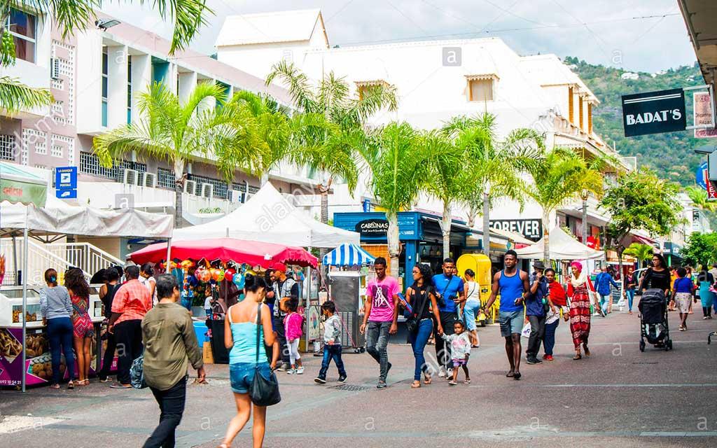 Shops in Réunion