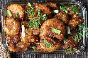 reunion shrimp curry